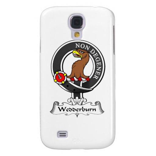Escudo del clan de Wedderburn Funda Para Galaxy S4