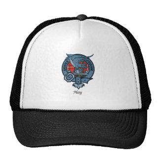 Escudo del clan del heno gorras de camionero