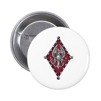 Escudo del color de PBP Pin Redondo 5 Cm