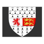 Escudo del condado de Carlow, Irlanda Postal