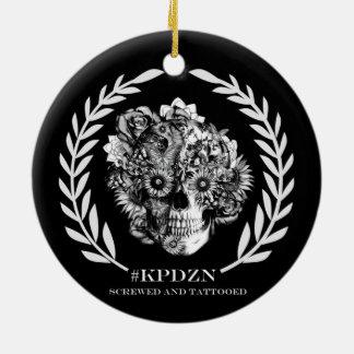 Escudo del cráneo de KPDZN Ornamento De Reyes Magos