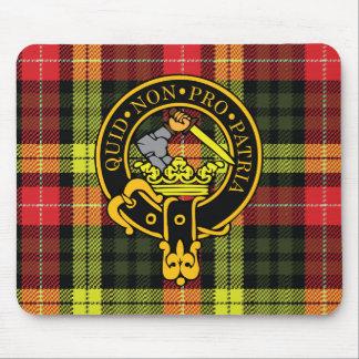 Escudo del Dewar y cojín de ratón escoceses del ta