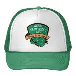 escudo del día de St Patrick orgulloso al irlandés Gorras De Camionero