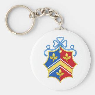 Escudo del escudo de armas de Middleton/de la fami Llavero Redondo Tipo Pin