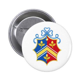 Escudo del escudo de armas de Middleton/de la fami Pin Redondo 5 Cm