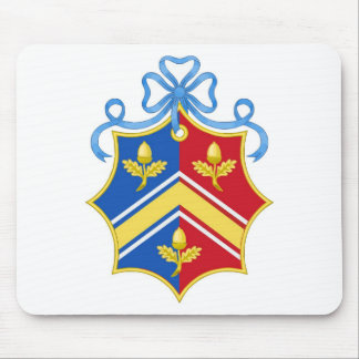 Escudo del escudo de armas de Middleton/de la fami Tapete De Raton