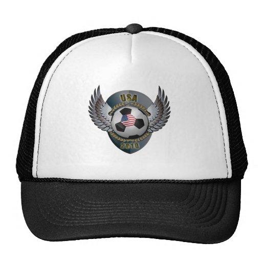 Escudo del fútbol de América Gorro