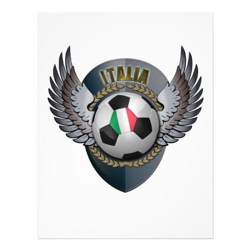 Escudo del fútbol de Italia Tarjetones