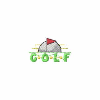Escudo del golf polo bordado