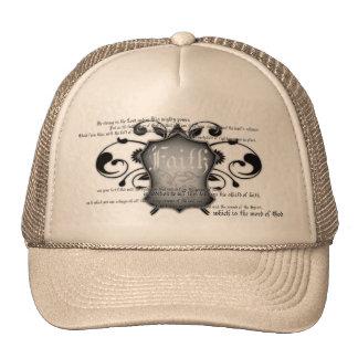 Escudo del gorra cristiano de la fe (armadura de d