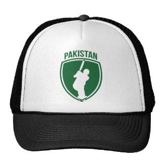 Escudo del grillo de Paquistán Gorros
