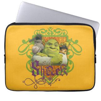 Escudo del grupo de Shrek Funda Ordendadores
