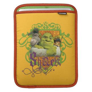 Escudo del grupo de Shrek Mangas De iPad