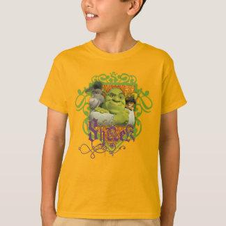 Escudo del grupo de Shrek Playera