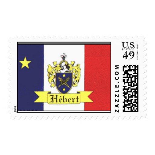 escudo del hebert timbres postales