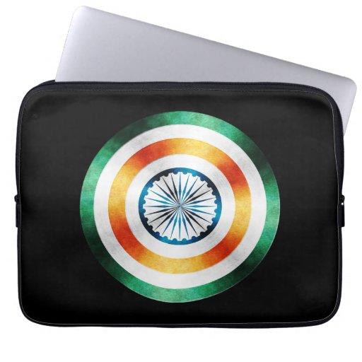 Escudo del héroe de capitán la India Mangas Computadora