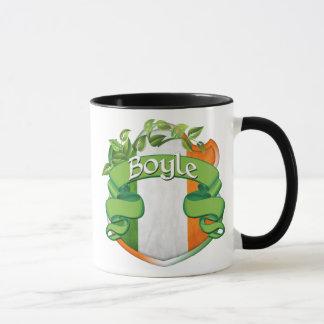 Escudo del irlandés de Boyle