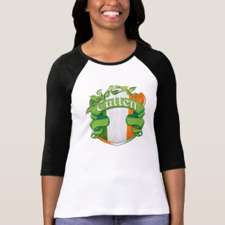 Escudo del irlandés de Cullen Camisetas
