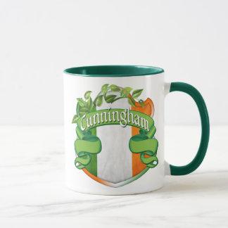 Escudo del irlandés de Cunningham Taza