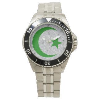 Escudo del Islam (problema real de Dubai) Relojes