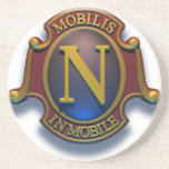 Escudo del nautilus N de David McCamant Posavasos Manualidades