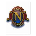Escudo del nautilus N de David McCamant Postales