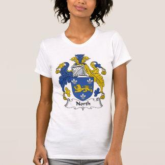 Escudo del norte de la familia camiseta