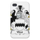 Escudo del oeste de la familia iPhone 4 cárcasas