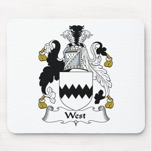 Escudo del oeste de la familia alfombrilla de raton