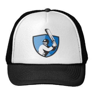 escudo del palo del bateador del jugador del grill gorros