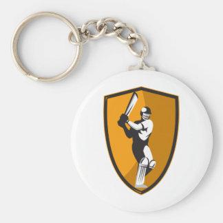 escudo del palo del bateador del jugador del grill llavero