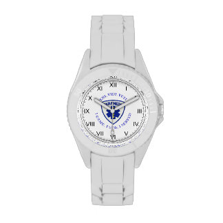 Escudo del paramédico reloj de mano