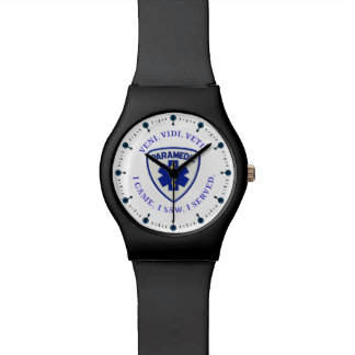 Escudo del paramédico reloj