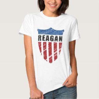Escudo del patriota de Reagan Playera