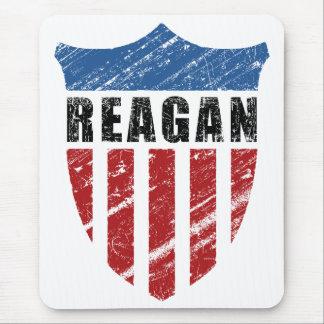 Escudo del patriota de Reagan Tapete De Ratón
