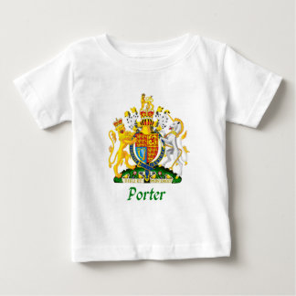 Escudo del portero de Gran Bretaña Playera Para Bebé
