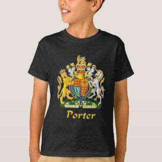 Escudo del portero de Gran Bretaña Remeras