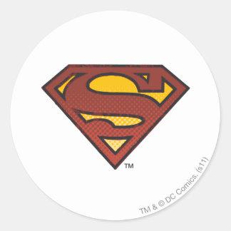Escudo del superhombre S Pegatina