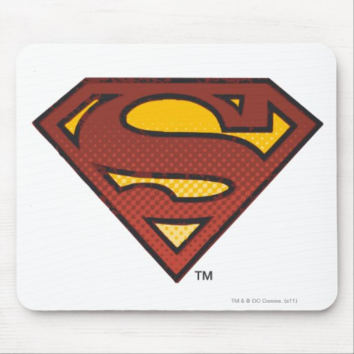Escudo del superhombre S Tapete De Raton