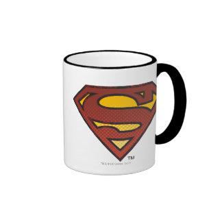 Escudo del superhombre S Taza De Café
