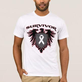 Escudo del superviviente del cáncer de hueso playera