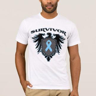 Escudo del superviviente del cáncer de próstata playera