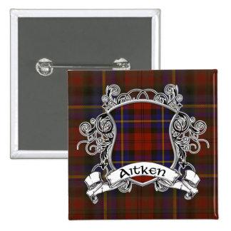 Escudo del tartán de Aitken Pin