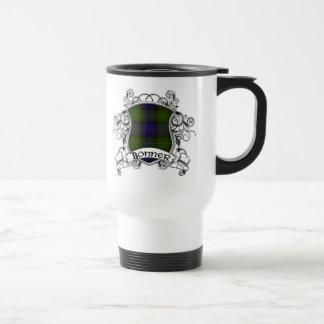 Escudo del tartán de Bonner Tazas De Café