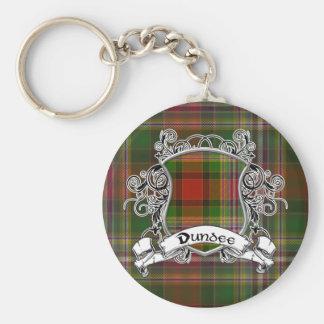 Escudo del tartán de Dundee Llavero
