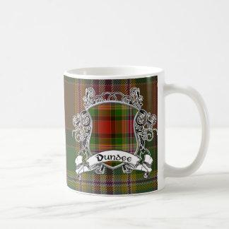 Escudo del tartán de Dundee Tazas