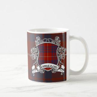 Escudo del tartán de Hamilton Tazas