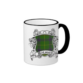 Escudo del tartán de Holmes Taza De Café