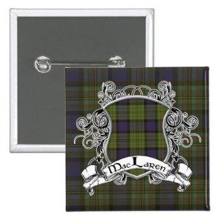 Escudo del tartán de MacLaren Pin
