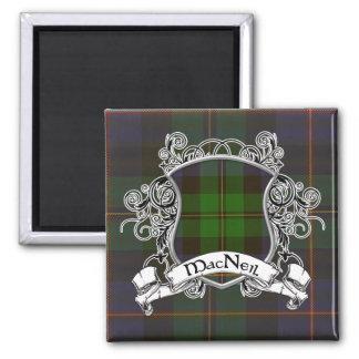 Escudo del tartán de MacNeil Imanes